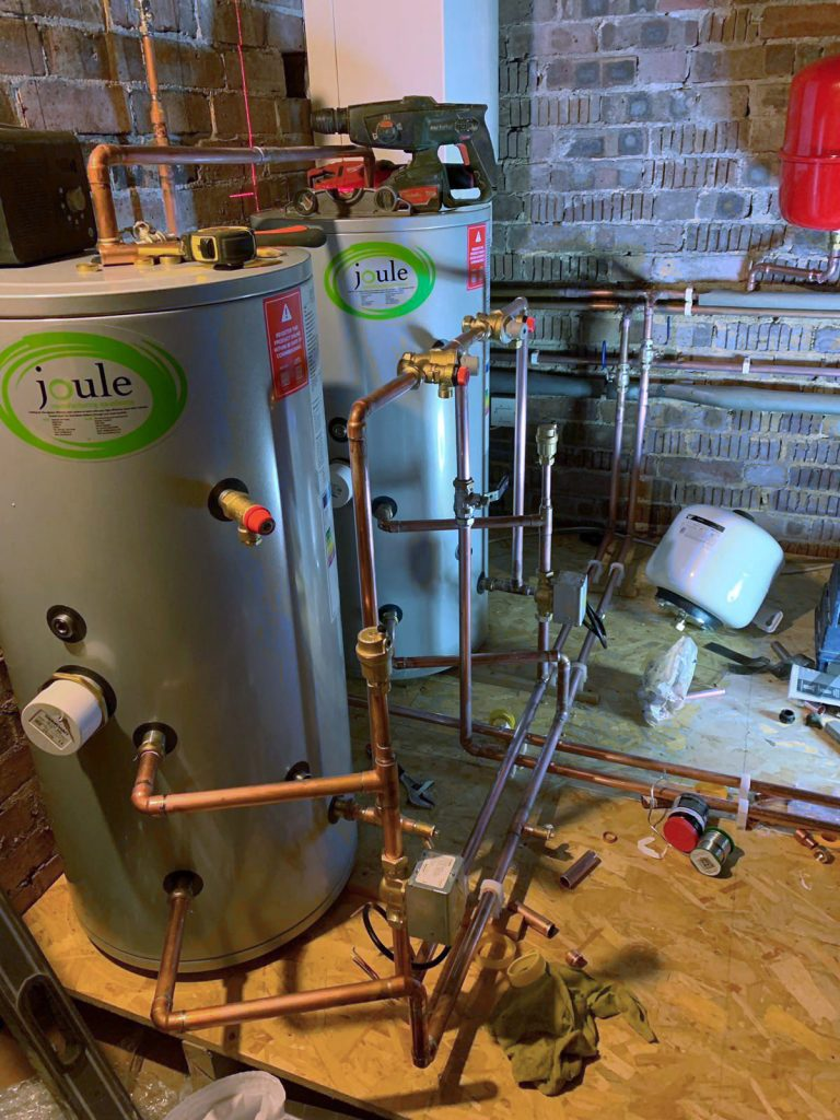 Worcester Bosch hot water system in Berkhamsted