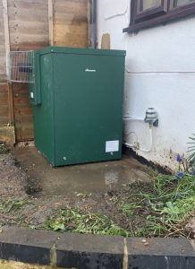 Boiler installation in Great Gaddesden saves space by locating outdoors